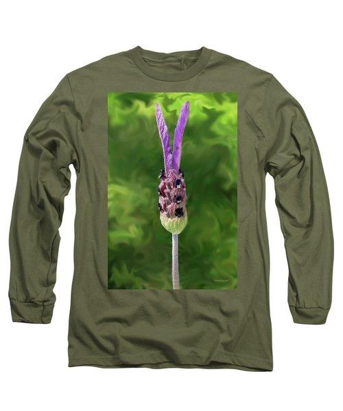 Lady Lavender Long Sleeve T-Shirt