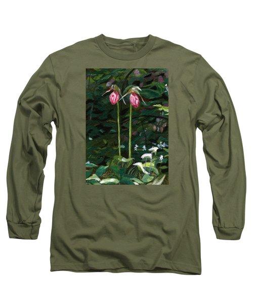 Lady Slipper Long Sleeve T-Shirt