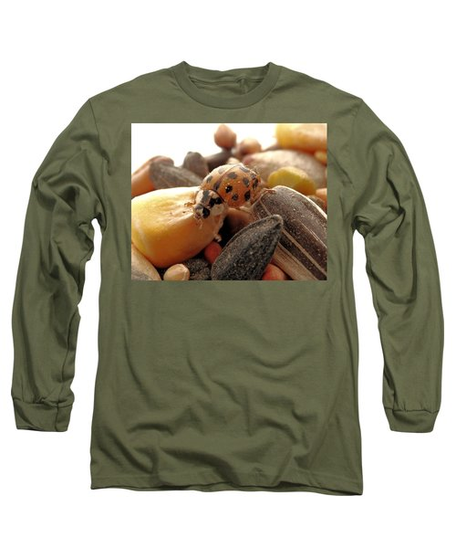 Ladybug On The Run Long Sleeve T-Shirt