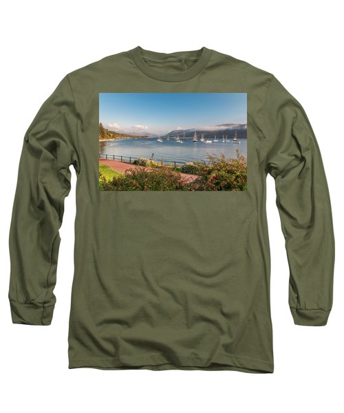 Gulf Of  Ullapool  - Photo Long Sleeve T-Shirt by Sergey Simanovsky