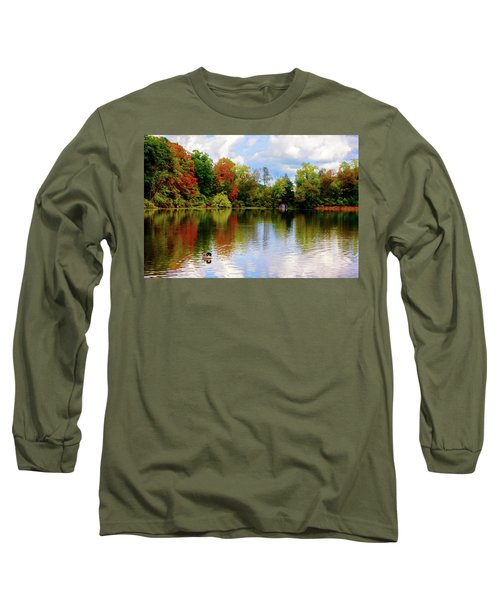 Lake At Forest Park Long Sleeve T-Shirt