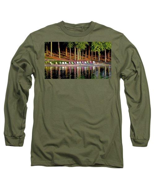 Lake Chairs Long Sleeve T-Shirt