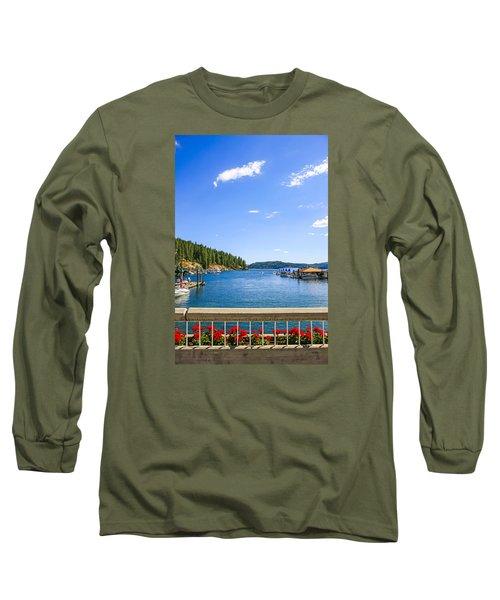 Lake Coeur D'alene Idaho Long Sleeve T-Shirt