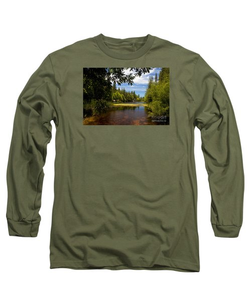 Lake Fulmor View Long Sleeve T-Shirt by Ivete Basso Photography