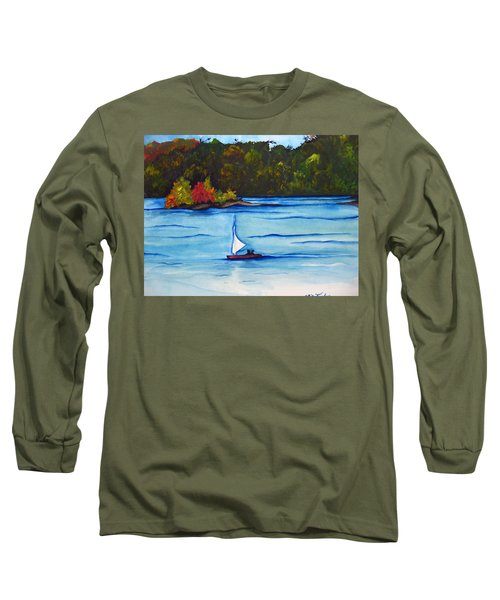 Lake Glenville  Sold Long Sleeve T-Shirt by Lil Taylor