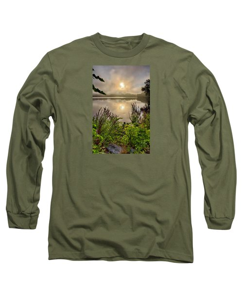Lake Pentucket Sunrise, Haverhill, Ma Long Sleeve T-Shirt by Betty Denise