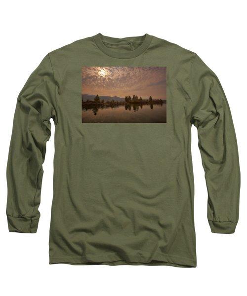 Lake Roosevelt Washington2 Long Sleeve T-Shirt by Loni Collins
