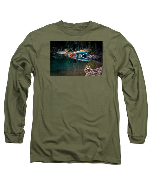Kayaks At Rest Long Sleeve T-Shirt