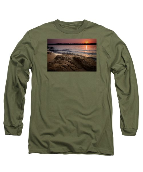 Lake Sunset Vi Long Sleeve T-Shirt