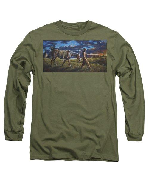 Lakota Sunrise Long Sleeve T-Shirt