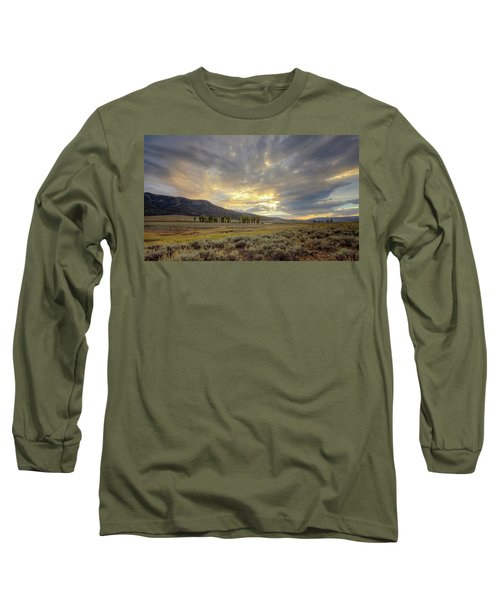 Lamar Valley Sunset Long Sleeve T-Shirt