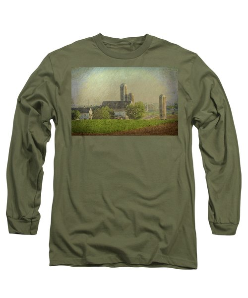 Lancaster Pennsylvania Farm Long Sleeve T-Shirt