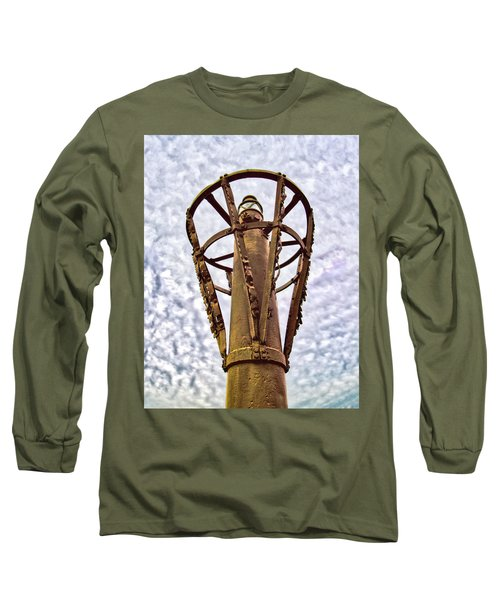 Long Sleeve T-Shirt featuring the photograph Land Buoy No 6 by Gary Slawsky