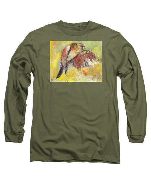 Landing On The Rainbow Long Sleeve T-Shirt