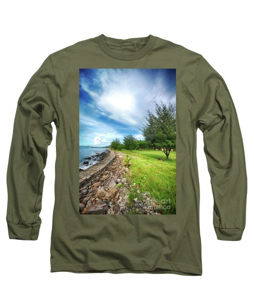 Long Sleeve T-Shirt featuring the photograph Landscape 2 by Charuhas Images