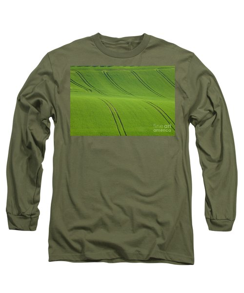 Landscape 5 Long Sleeve T-Shirt by Jean Bernard Roussilhe