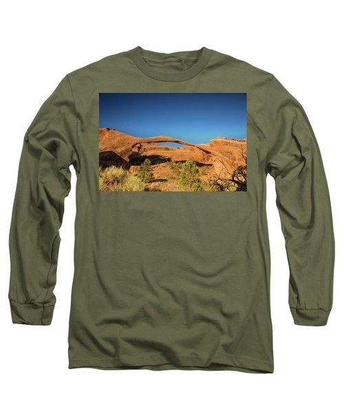 Landscape Arch Sunrise Long Sleeve T-Shirt