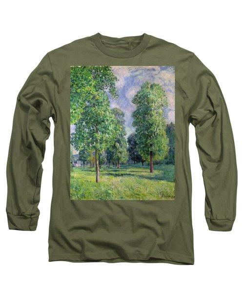 Landscape At Sevres Long Sleeve T-Shirt