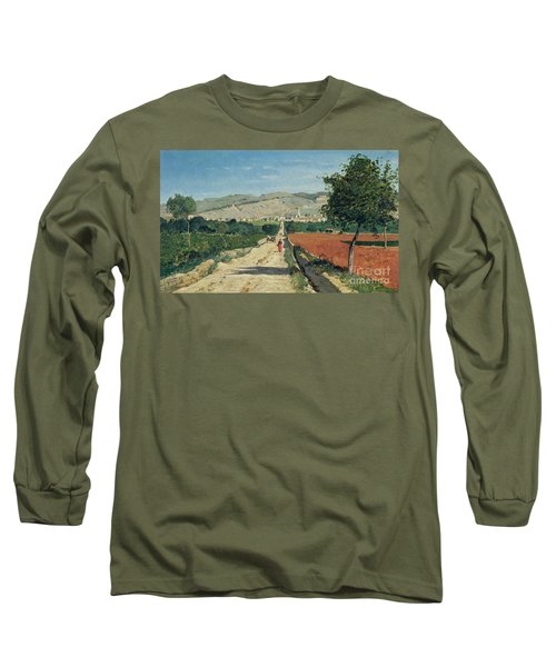 Landscape In Provence Long Sleeve T-Shirt