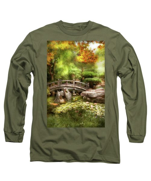 Long Sleeve T-Shirt featuring the photograph Landscape - Simply Paradise by Mike Savad
