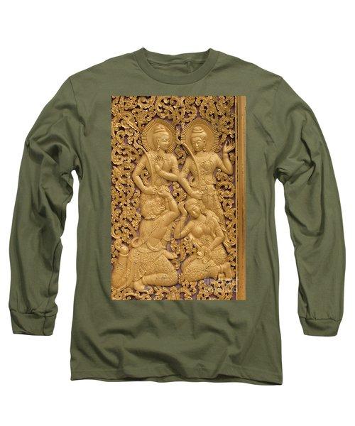 Laos_d59 Long Sleeve T-Shirt by Craig Lovell