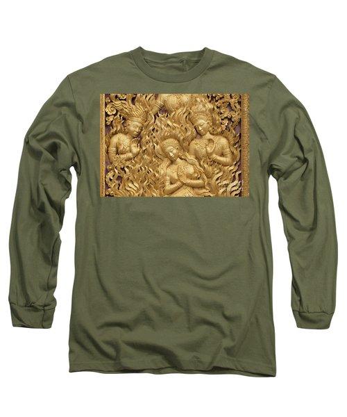 Laos_d60 Long Sleeve T-Shirt by Craig Lovell
