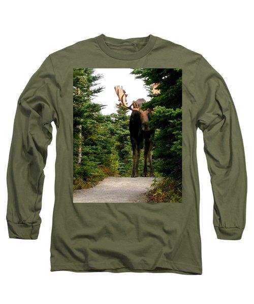 Large Moose Long Sleeve T-Shirt