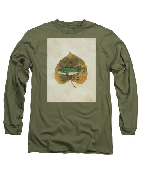 Large Mouth Bass Long Sleeve T-Shirt