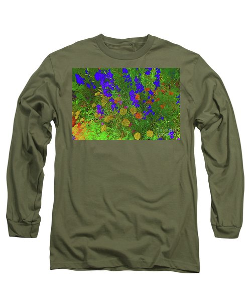 Larkspur And Primrose Garden 12018-3 Long Sleeve T-Shirt