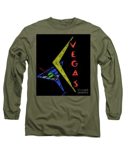 Las Vegas Neon Sign Long Sleeve T-Shirt