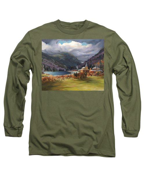 Last Train To Crawford Notch Depot Long Sleeve T-Shirt