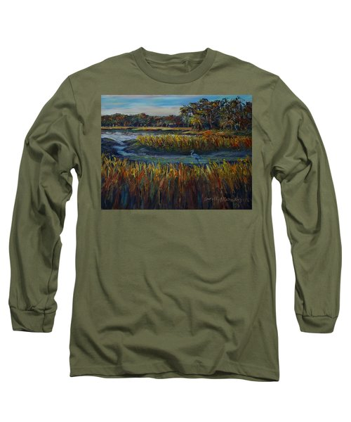 Late Afternoon Long Sleeve T-Shirt by Dorothy Allston Rogers