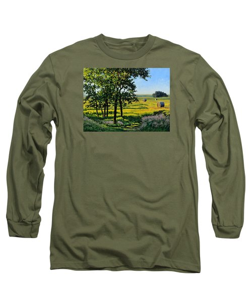 Late Afternoon Pasture Long Sleeve T-Shirt