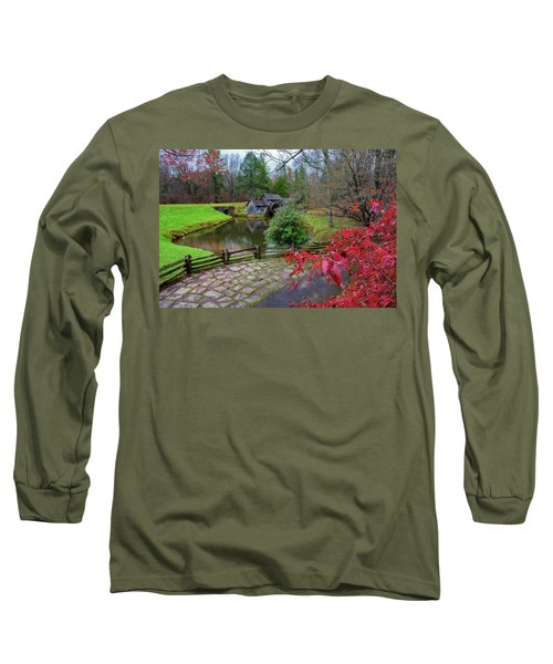 Late Fall At Mabry Mill Long Sleeve T-Shirt