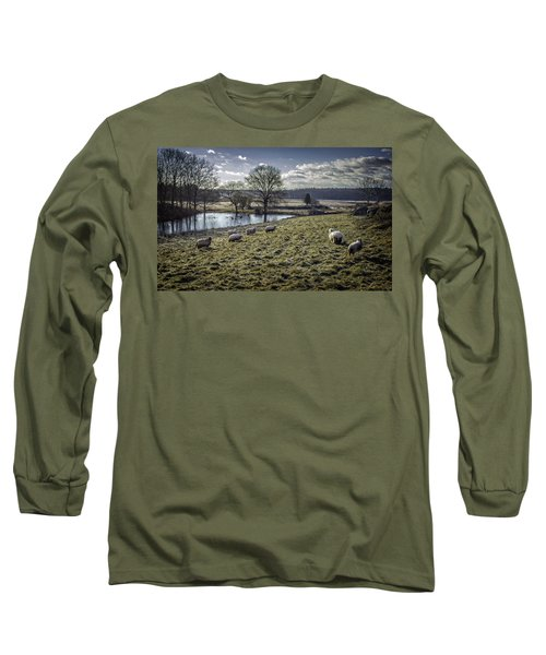 Late Fall Pastoral Long Sleeve T-Shirt