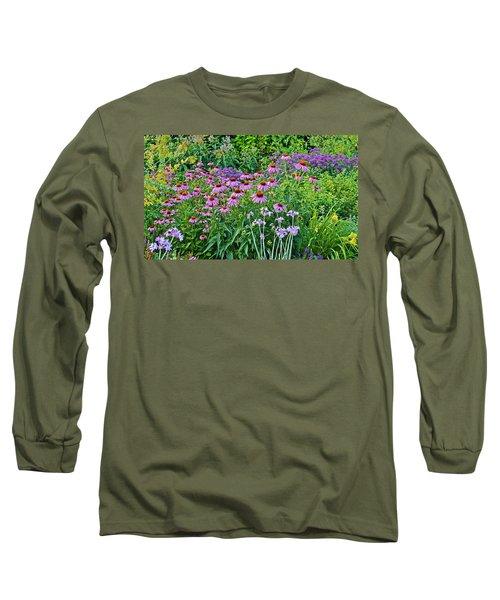 Late July Garden 2 Long Sleeve T-Shirt