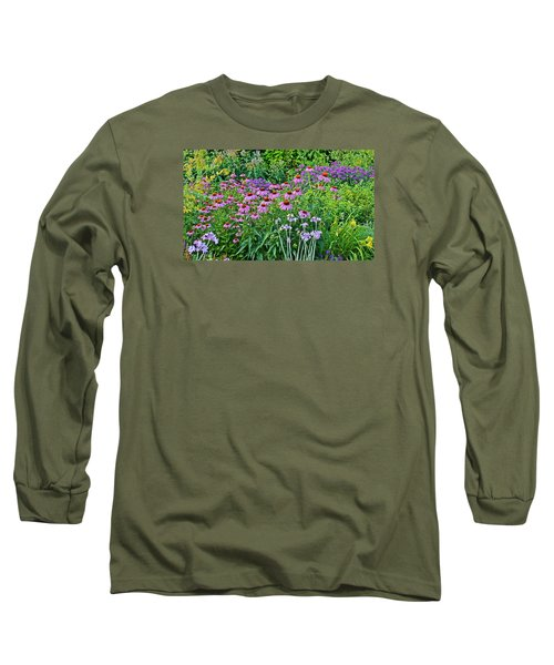 Late July Garden 2 Long Sleeve T-Shirt