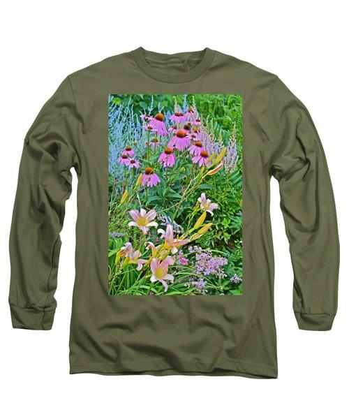 Late July Garden 3 Long Sleeve T-Shirt