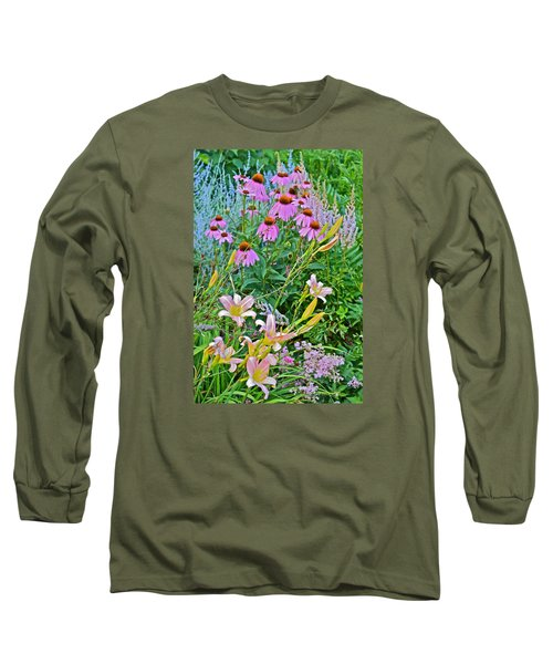 Late July Garden 3 Long Sleeve T-Shirt