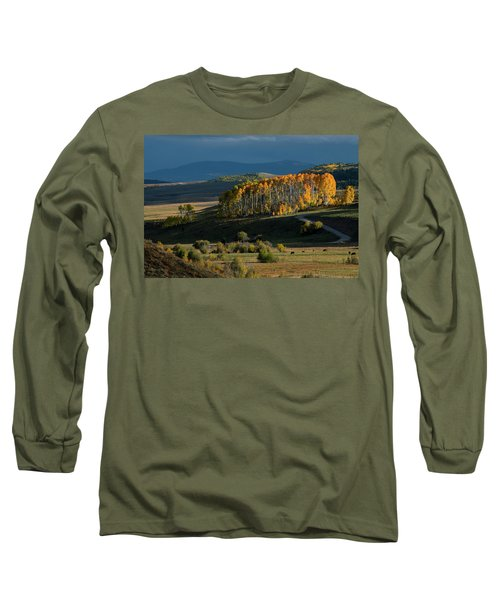 Long Sleeve T-Shirt featuring the photograph Late Stand by Dana Sohr