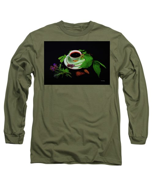 Late Summer Coffee Long Sleeve T-Shirt