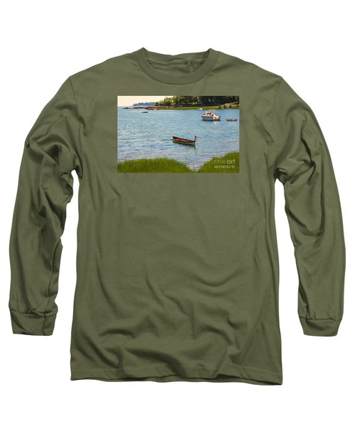 Later Afternoon Sun Long Sleeve T-Shirt