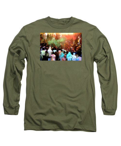 Lathmaar Holi Of Barsana-4 Long Sleeve T-Shirt