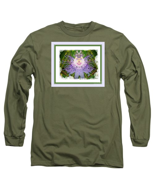Laughing Flower Long Sleeve T-Shirt