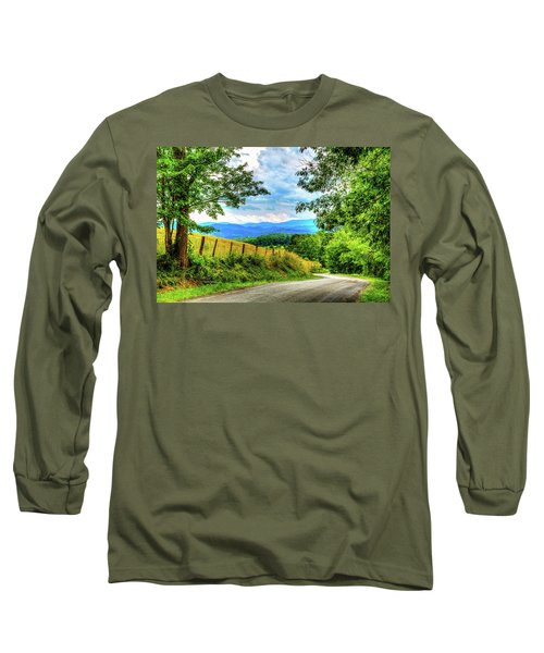 Laurel Hill View Long Sleeve T-Shirt by Dale R Carlson