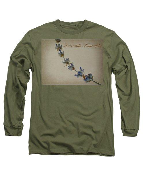 Lavandula Angustifolia Long Sleeve T-Shirt