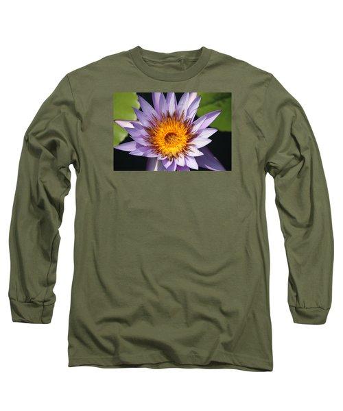 Lavender Fire Open Long Sleeve T-Shirt