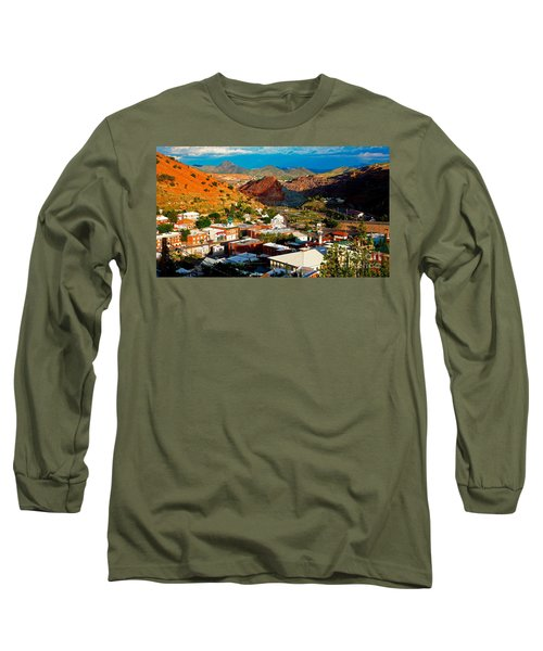 Lavender Pit In Historic Bisbee Arizona  Long Sleeve T-Shirt