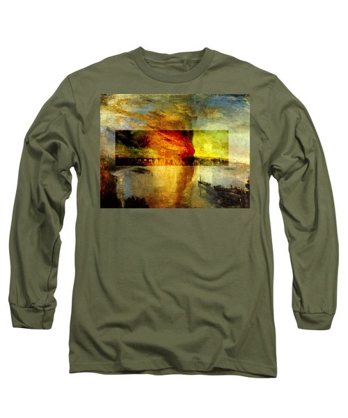 Layered 12 Turner Long Sleeve T-Shirt by David Bridburg