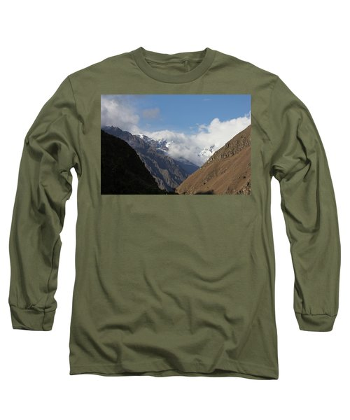 Layers Of Mountains Long Sleeve T-Shirt